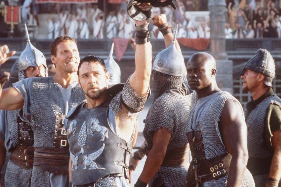 "Mit Russel Crowe im Hollywood-Hit ""Gladiator""."
