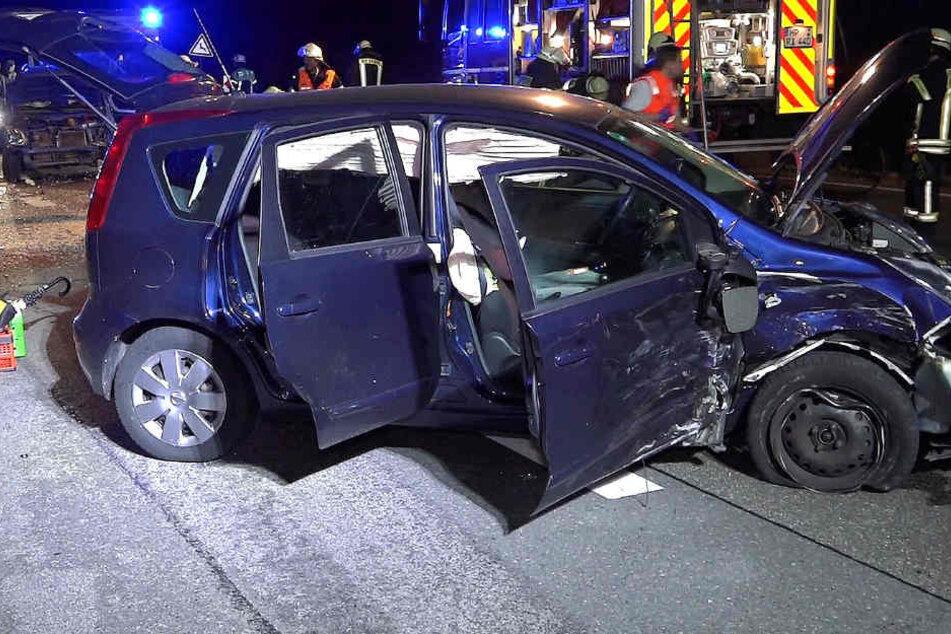 Schwerer Crash mit vielen Verletzten