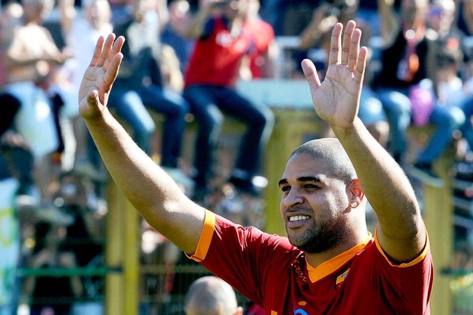 Kam beim AS Rom mit 20 Kilo Übergewicht zur Präsentation: Adriano.