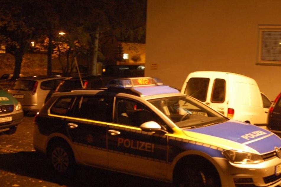 Die Polizei war mit gleich fünf Streifenwagen vor Ort.