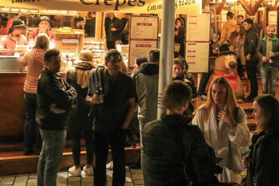 Seit 17. Oktober hat das Winterdorf in Bayreuth geöffnet.