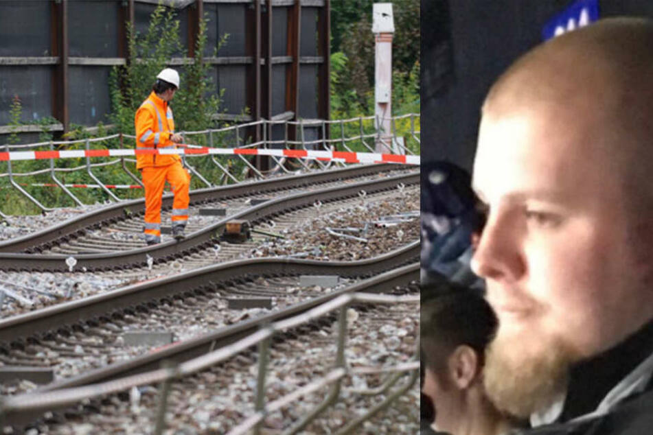 Mit dem Zug fuhr Stephen nach Füssen. Von dort aus wollte er wieder nach München wandern.