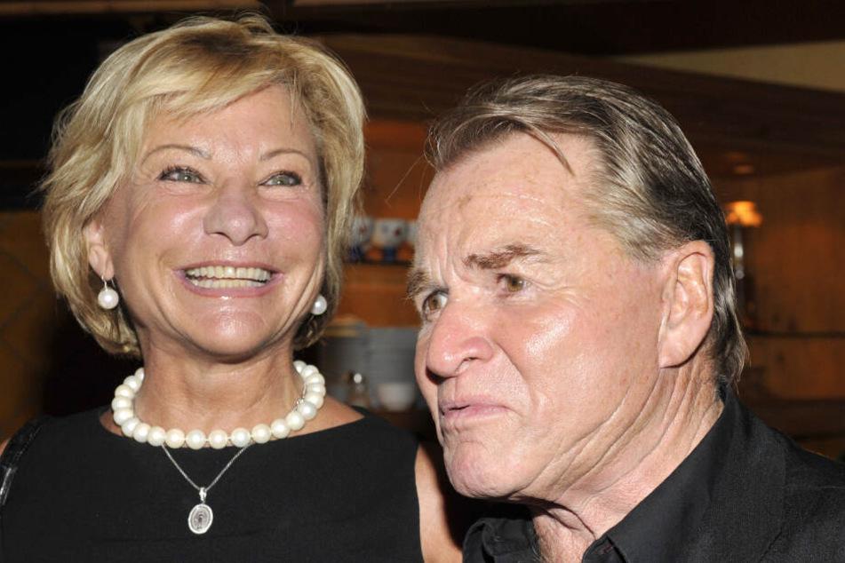 Fritz Wepper und seine Frau Angela bei einer Veranstaltung im Jahr 2009.