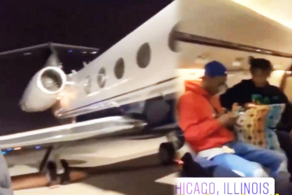 Tod von Juice Wrld: Video vom letzten Flug aufgetaucht!