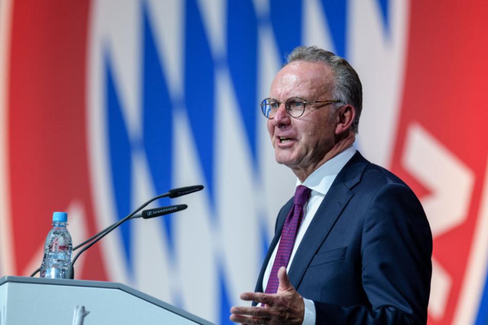Karl-Heinz Rummenigge verlängert seinen Vertrag bis Ende 2021.
