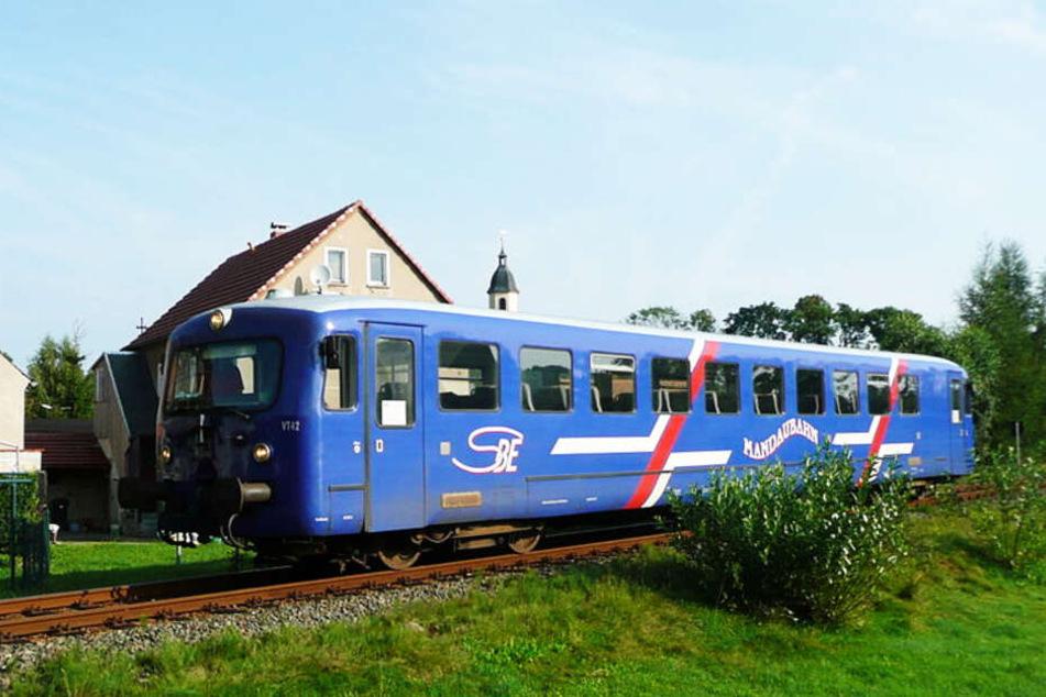 Auch solche Triebwagen wurden einst auf der Strecke eingesetzt.