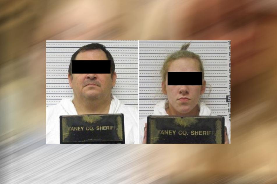 Bailey B. (23) und Mitbewohner Aubrey T. (51) sind nunmehr in Polizeigewahrsam.