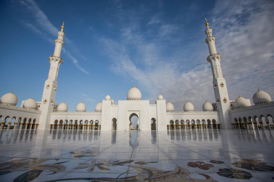 Der Innenhof der Moschee, die Robert Geiss in seinem Video bei Instagram erwähnt.