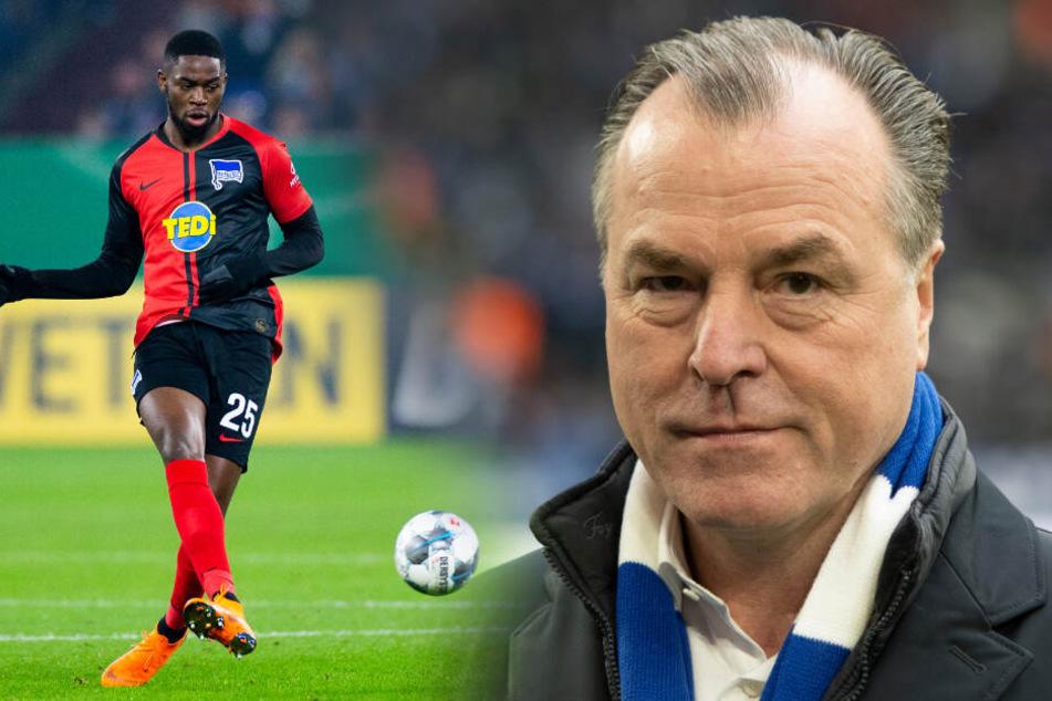 Herthas Jordan Torunarigha soll während des Pokalspiels gegen den FC Schalke 04 rassistisch beleidigt worden sein. Jetzt äußert sich S04-Aufsichtsratschef Clemens Tönnies.