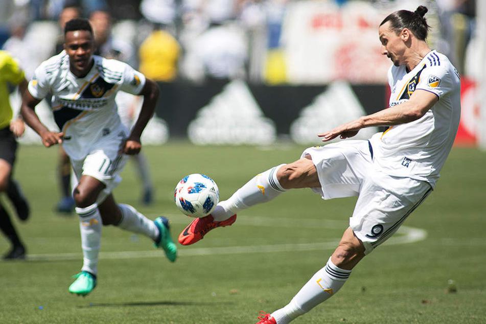 Diese Schusstechnik! Zlatan Ibrahimovic erzielte gegen den FC Toronto ein wunderschönes Tor.