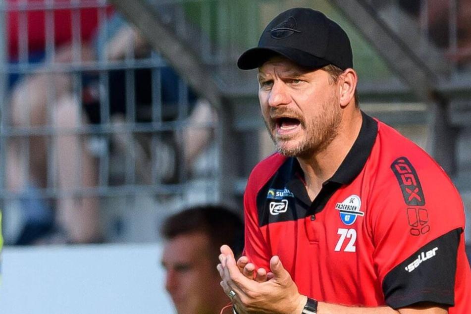SCP-Trainer Steffen Baumgart möchte beim Regionalligisten eine aggressive Mannschaft sehen.