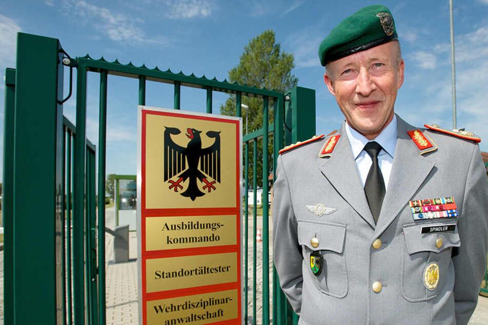 Am Mittwoch wurde der Generalmajor Walter Spindler in der General-Olbricht-Kaserne verabschiedet.