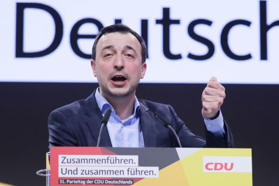 Paul Ziemiak von der Jungen Union ist neuer Generalsekretär der CDU.