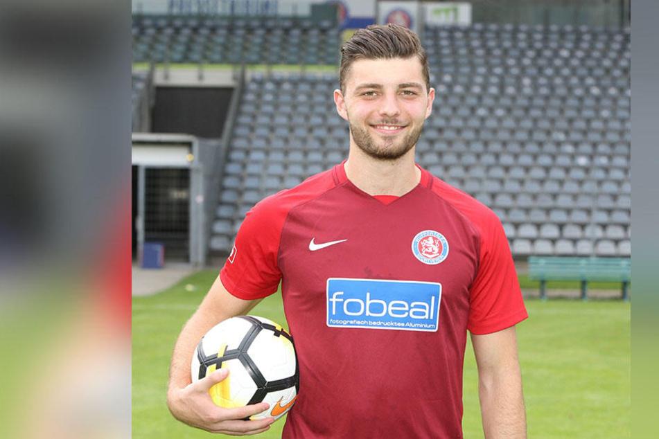 Joshua Mroß kommt vom Regionalligisten Wuppertaler SV.