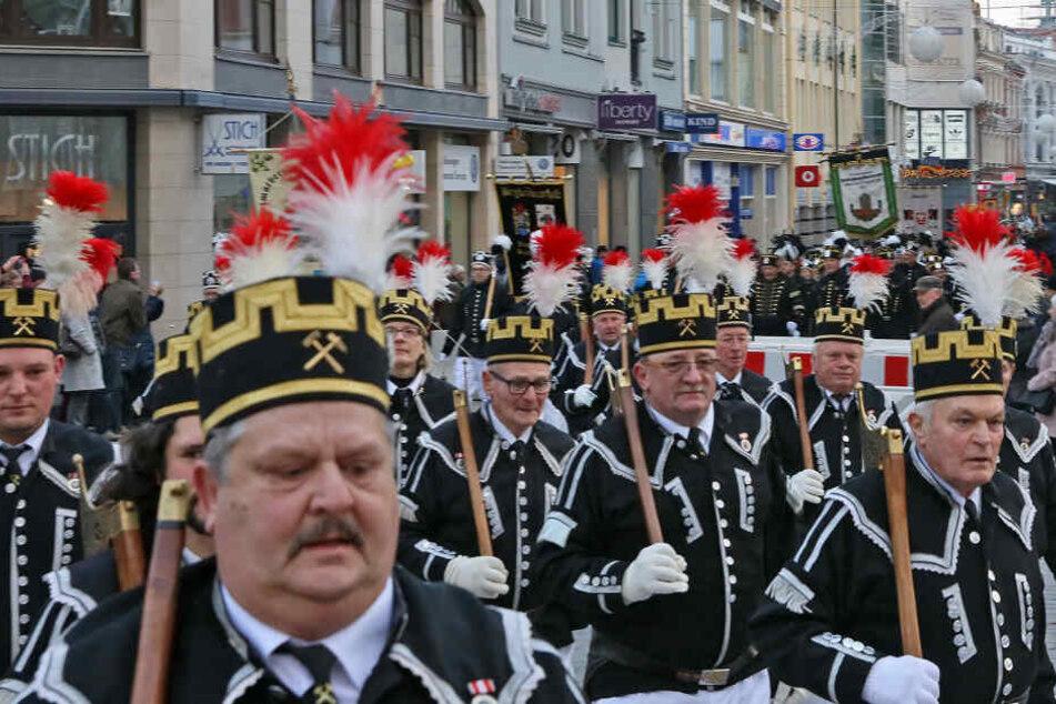 Ist das Sachsens älteste Bergparade?