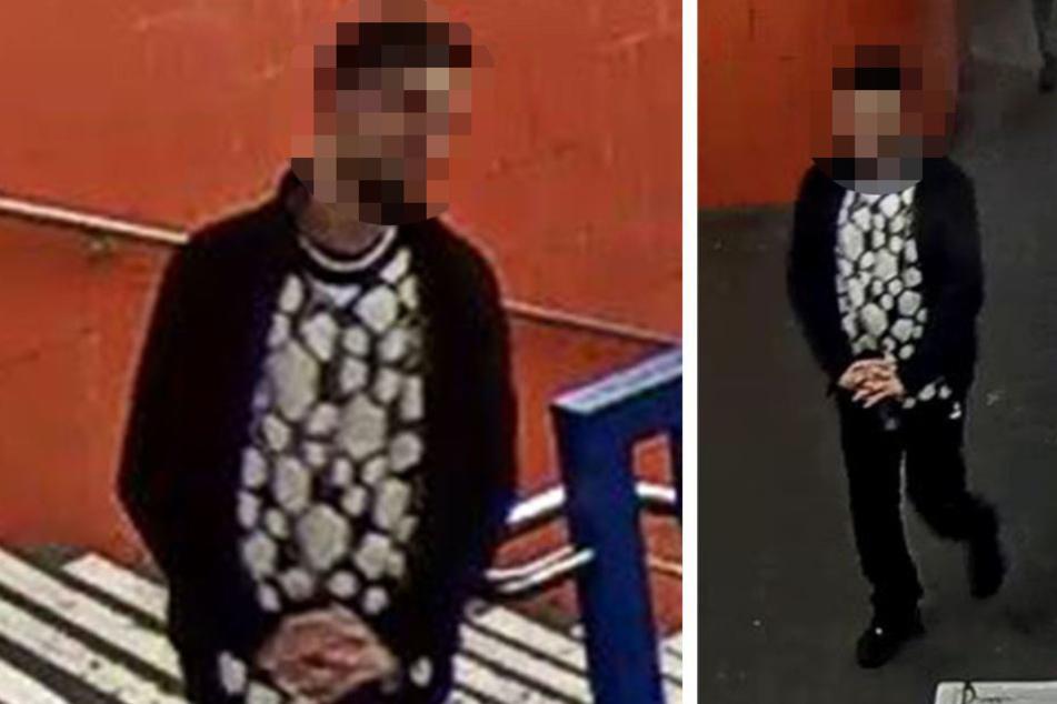 Die Polizei sucht mit diesen Bildern nach dem mutmaßlichen Täter.