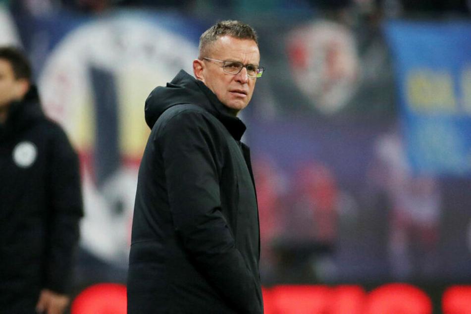 Unzufrieden mit den Platzverhältnissen im heimischen Stadion: RB-Trainer Ralf Rangnick.