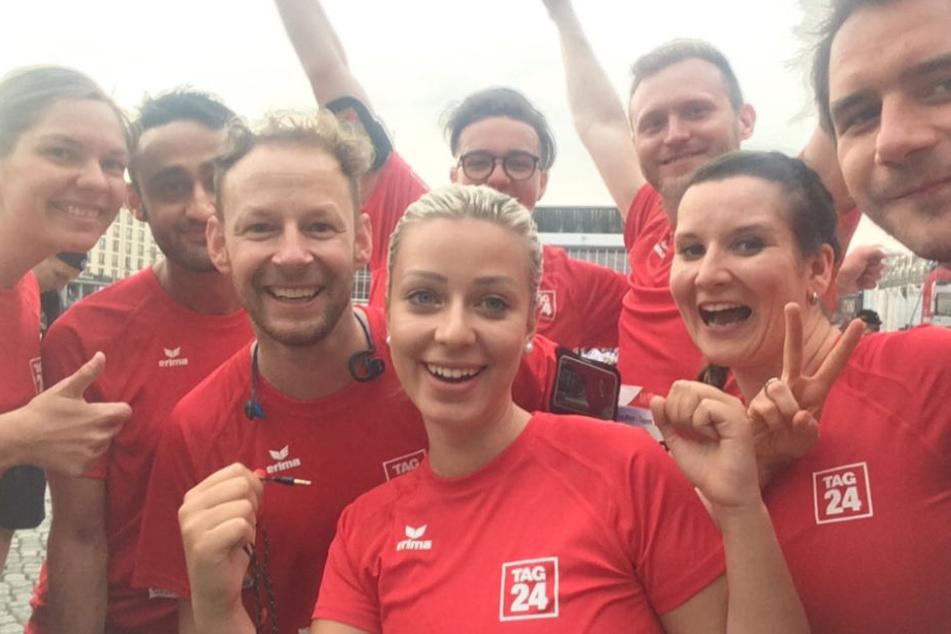 Auch ein Team von TAG24 machte sich auf die 5-Kilometer-Strecke der REWE-Team-Challenge.