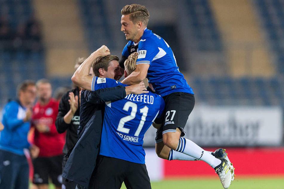 Gegen den VfL Bochum war der DSC noch erfolgreich.