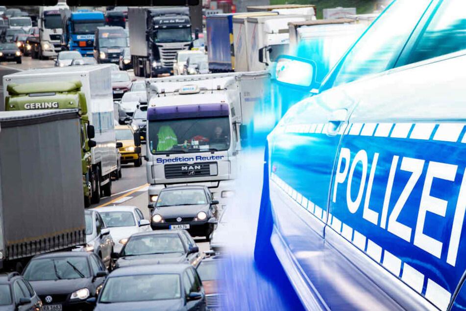 Schwerer Unfall auf A3 bei Frankfurt: Polizistin unter den Verletzten