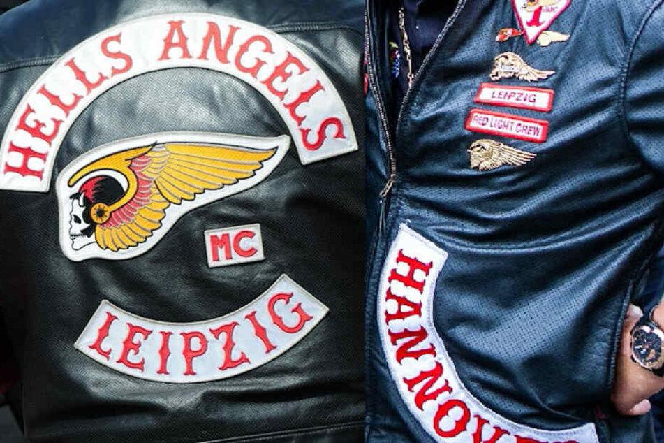 Dieses Colour ist längst Geschichte: Das Leipziger Charter der Hells Angels löste sich 2016 nach der Schießerei mit den United Tribuns auf. Das Tragen der Kutte mit dem geflügelten Totenkopf ist in Deutschland mittlerweile verboten.