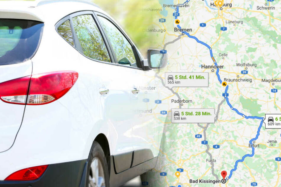 Tagelang fuhr der 16-Jährige mit dem gestohlenen SUV durch Deutschland.