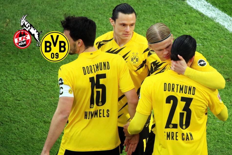Erling Haaland rettet arroganten BVB! Dortmund holt Last-Minute-Remis beim 1. FC Köln