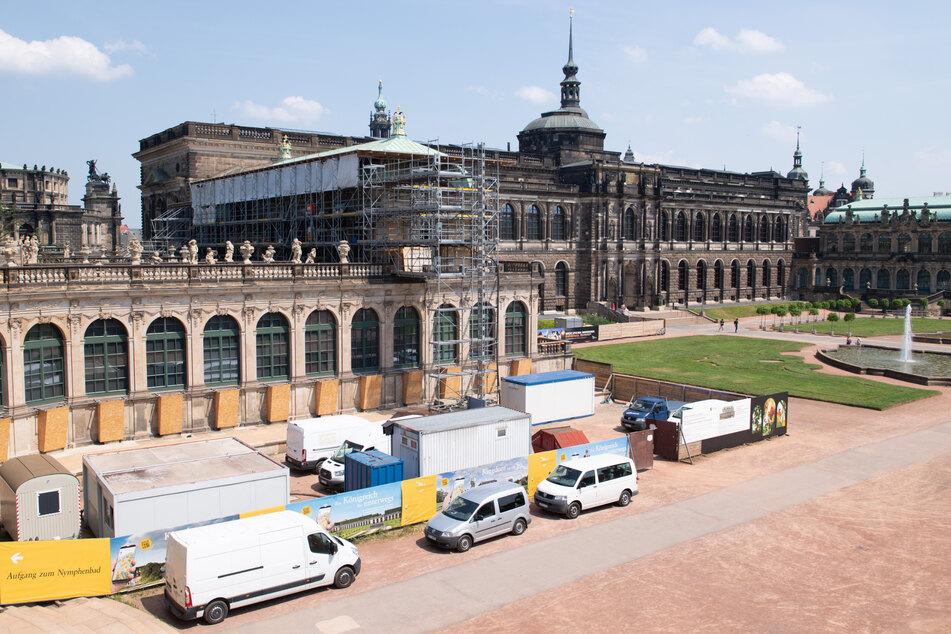 Die Zwingerbauhütte, verantwortlich für die fortlaufende Restaurierung und Instandhaltung des Dresdner Zwingers, begeht in diesem Jahr ihr 30. Jubiläum.