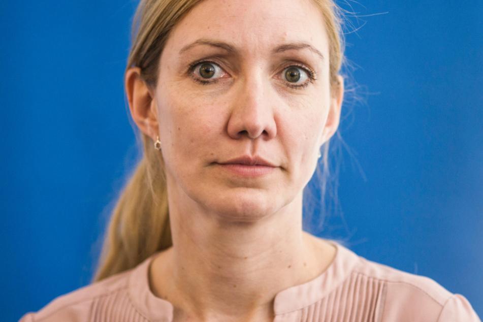 Das Foto aus dem März zeigt Sandra Ciesek, die Direktorin des Instituts für Virologie der Universitätsklinik Frankfurt am Main.