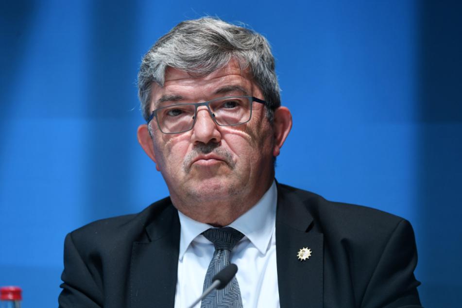 Lorenz Caffier (CDU), Innenminister von Mecklenburg-Vorpommern