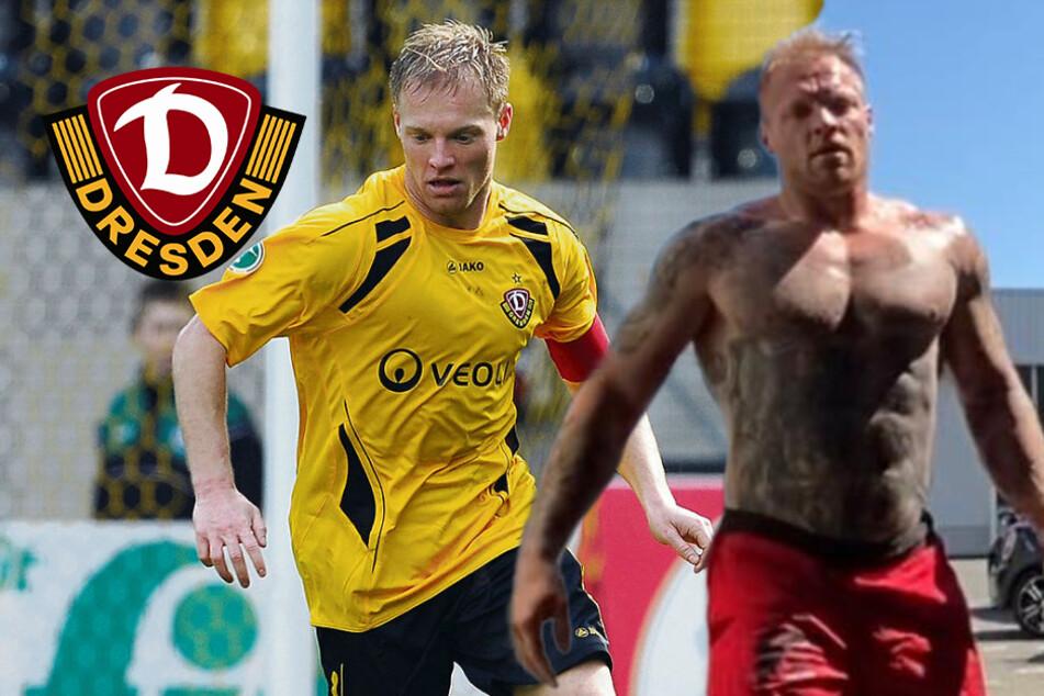 """Als Dynamo-Spieler im Training """"eine faule Sau"""", heute ist Hübener ein echtes Kraftpaket"""
