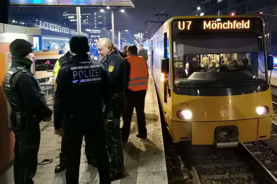 16-Jährige wird in Stuttgart von Stadtbahn erfasst und verletzt