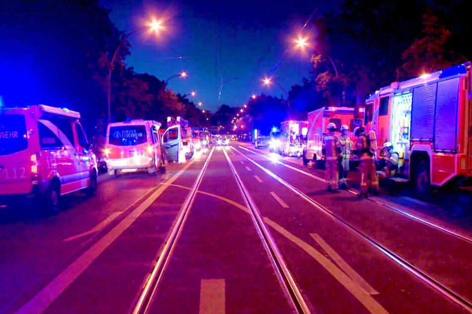 In einem Wohnheim für obdachlose Männer ist am Dienstagabend ein Feuer ausgebrochen.