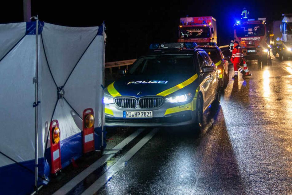 Der Unfall ereignete sich auf der A3 bei Wiesbaden.