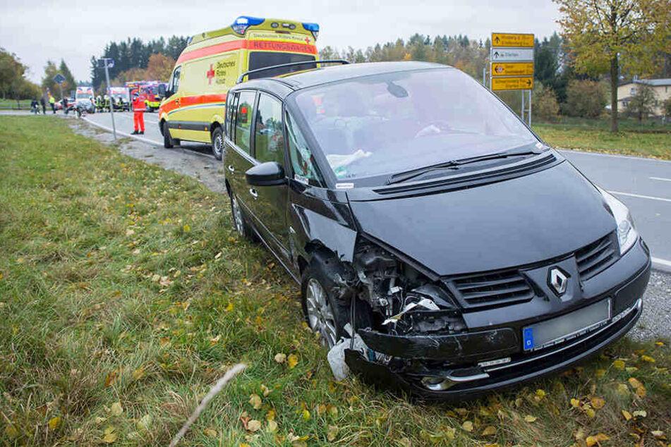 Fünf Verletzte gab es bei dem Unfall auf der S 258.