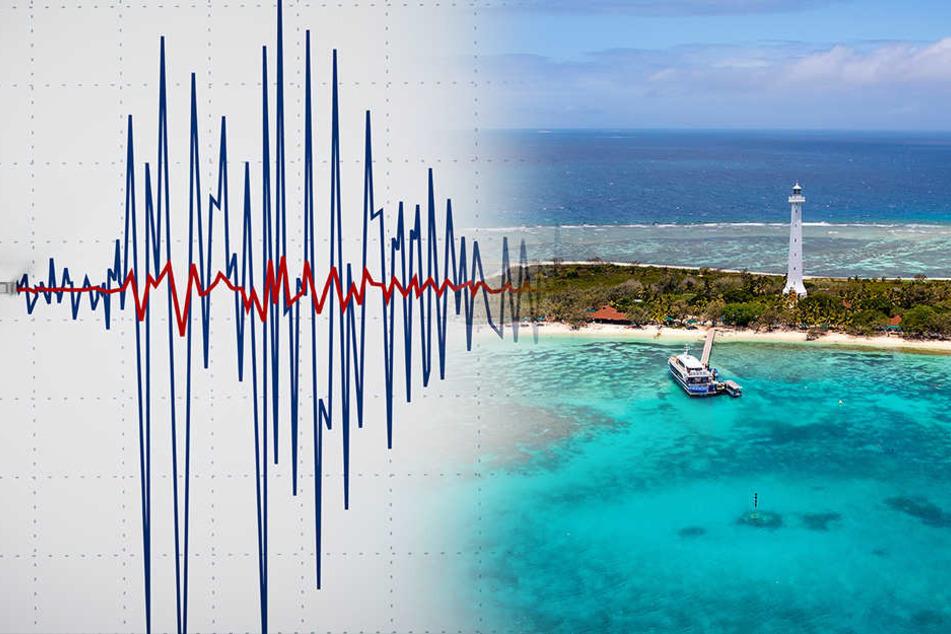 Nach schwerem Beben im Urlaubsparadies: Tsunami-Warnung aufgehoben
