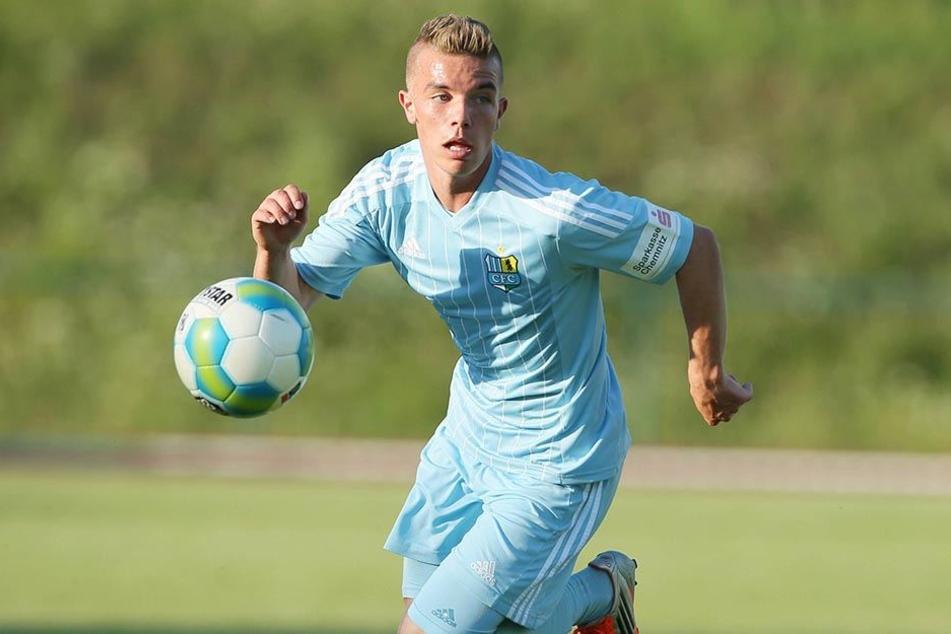 Sieben Jahre lang trug Christian Mauersberger das Dress der Chemnitzer FC. Nun kehrt er nach Sachsen zurück - allerdings zum FSV Zwickau.