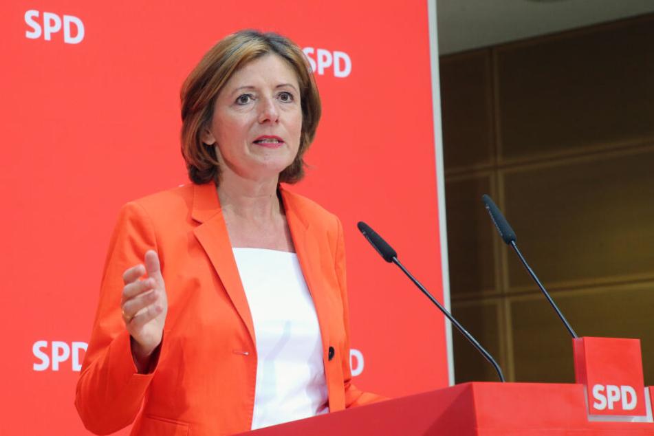 Malu Dreyer steht nach dem Rücktritt von Andrea Nahles kommissarisch an der Spitze der SPD.