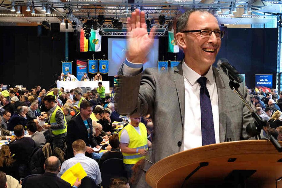 AfD wählt Spitzenkandidaten und geht mit Hetzreden auf Stimmenfang