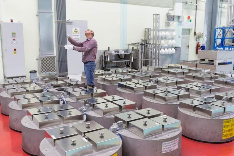 Die Brennelementefabrik in Lingen liefert Brennelemente mit Uran an Atomkraftwerke.