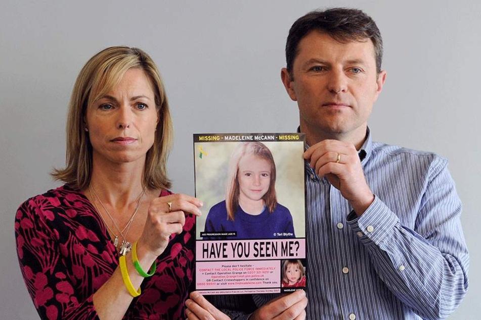 Kate und Gerry McCann (beide 52) wollen nie aufgeben nach Maddie zu suchen.