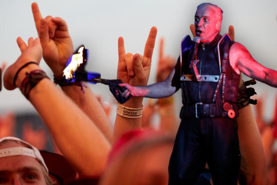 Herausgesprungene Kniescheiben: So hart feierten die Rammstein-Fans