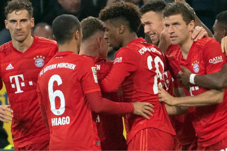 Der FC Bayern München konnte gegen Borussia Mönchengladbach nur kurz jubeln.