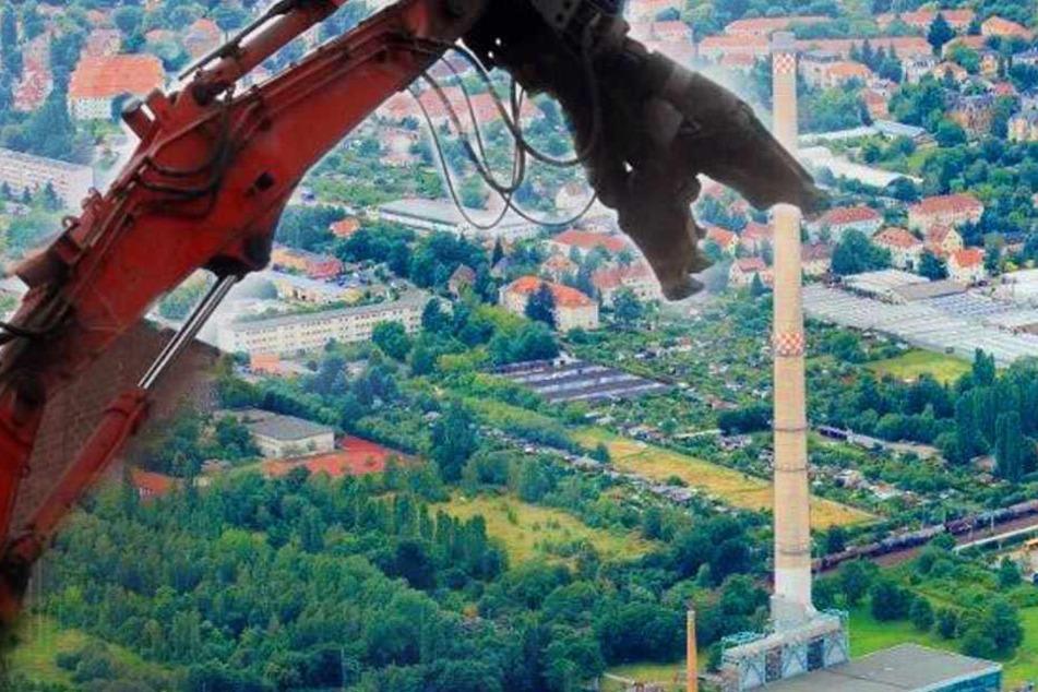Abriss! Dresdens zweithöchstes Bauwerk steht vor dem Aus