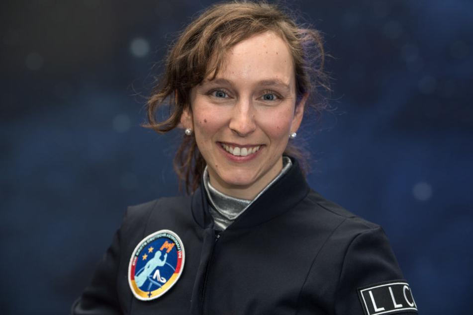 Schon als Kind habe Suzanna Randall von einem ISS-Flug geträumt.