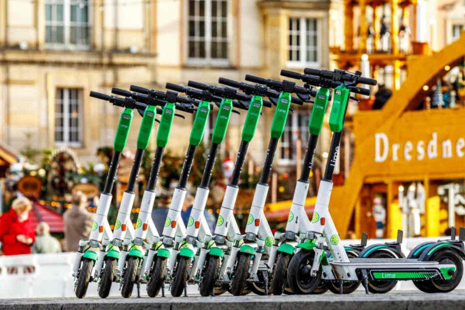 Kein Scooter-Boom in Dresden: Die große E-Ernüchterung