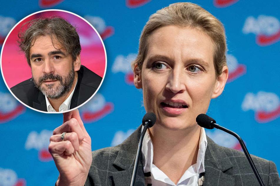 In den Augen von AfD-Fraktionsvorsitzenden Alice Weidel sollte Yücel kein Deutscher sein.