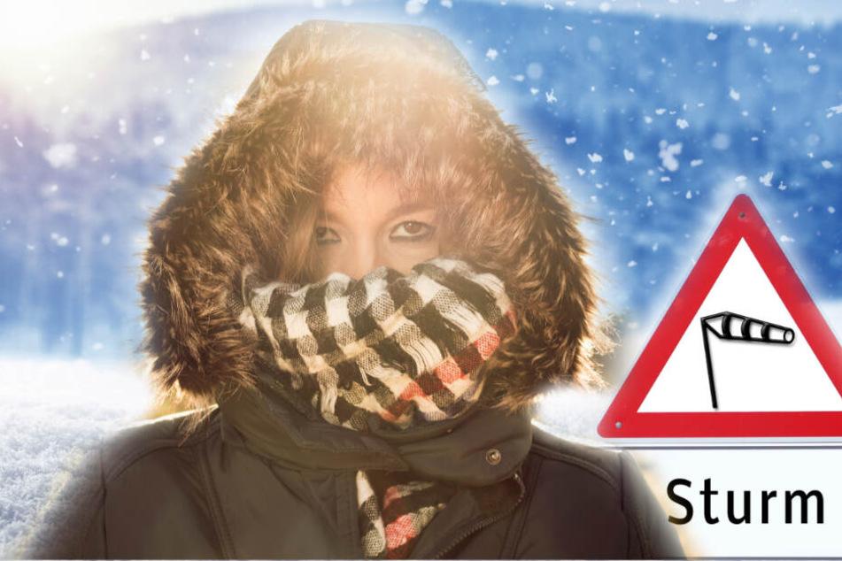 Wetterdienst warnt vor Sturmböen und Schnee: Hier droht Glätte!