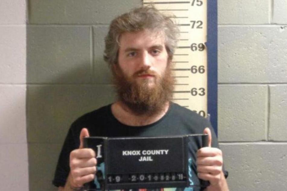 Nicholase H. (28) im Gefängnis von Knox County.