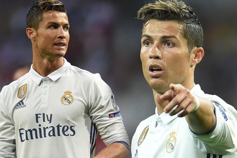Ronaldo beim Champions League Viertelfinal-Rückspiel am 18.04.2017 in Santiago Bernabeu, Madrid.